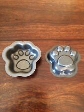 Paw Print Shaped Metal Molds for Baking - Bath Bombs - Bath Products