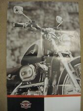 1997 Harley Davidson Sportster XL Accessories Brochure Poster 22 X 34""