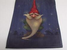 Midnight Gnome with Fireflies Decorative Garden Flag GFL736