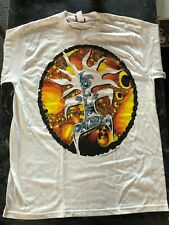 New listing Vintage Rock T Shirt- Lollapalooza Nos Xl 1994 90's white Giant Concert
