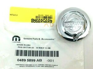 Chrysler 300 Pacifica Town and Country chrome logo Wheel Center Cap new OEM