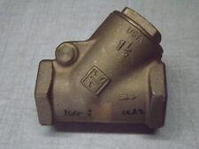 Milwaukee Valve 508 Bronze Horizontal Swing