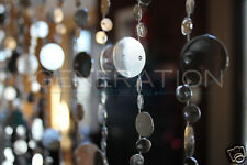 Hanging Doorway Beaded Curtains Champagne Bubble Silver beads Generation Store