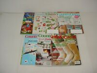 Lot of 7 Country Living Magazines 1997 to 2018