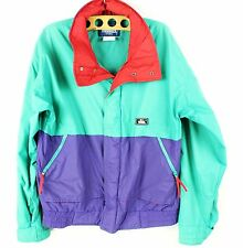 Vintage Woolrich Color Block Soft Shell Jacket Jolly Rancher Size M VTG 80's LSC