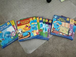 Blues Clues Discovery Series Books Set of 12 lot 1-2, 4-9, 10, 14, 16, 18