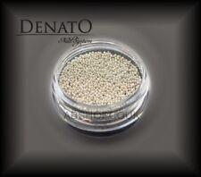 Caviar DELUX Silver 2g Extra Fine UV LED Nail Art Glitter Manicure Denato