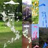 Angel/Dolphin/Luminous Grape Wind Chime Bell Garden Ornament Hanging Yard Decor
