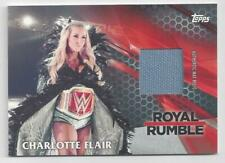 2017 TOPPS WWE THEN NOW FOREVER MAT RELIC CHARLOTTE FLAIR #53/299