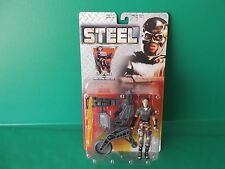 "STEEL Lt Sparks w/Mobile Defense Power Chair 4.75""in Figure 1997  Kenner  Hasbro"