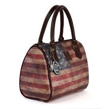 Handtasche Vintage USA Henkeltasche elegante Damenhandtasche Robin Ruth Otg103f