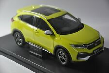 Honda XR-V 2019 car model in scale 1:18 Yellow