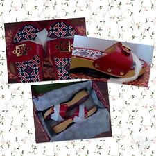 100% Authentic BNIB TORY BURCH Red Patent Leather Slides/Sandals Size7