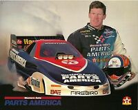 1997 Randy Anderson Parts America Pontiac Firebird Funny Car NHRA postcard