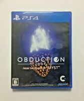 NEW PS4 OBDUCTION JAPAN Sony PlayStation 4 import Japanese game