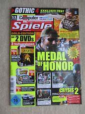 Computer Bild Spiele Magazin Nr. 11 vom 6.10.2010