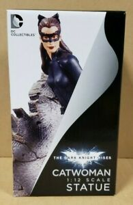 CATWOMAN 1:12 SCALE DARK KNIGHT RISES STATUE (FACTORY SEALED, BRAND NEW)
