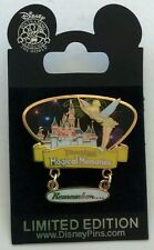Disney Pin 58385 New Magical Memories Sleeping Beauty Castle Tinker Bell Le1000