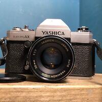 Yashica Electro AX 35MM SLR Camera with Yashinon DS-M 50mm 1:1.7 Lens Lomo