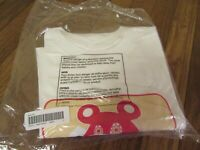 Supreme Bear Tee T-Shirt Size Large White FW20 Supreme New York 2020 New DS