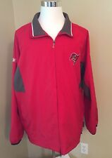 Adult Size XL NFL Tampa Bay Buccaneers NFL Equipment Light Jacket Reebok