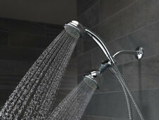 Delta 75530D Chrome 5 Sprays Shower Head & Handshower DIY Easy Install Diverter