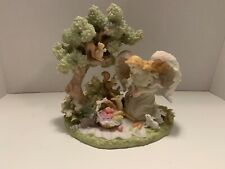 "Seraphim Classics Angel ""A Summer's Day� by Roman #78212 Animals Tree 2004"