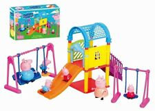 Peppa Pig Playground Children's Slide Swing Play Set With Figures Xmas Gift