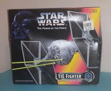 STAR WARS TIE FIGHTER WITH EJECTING SOLAR PANEL WINGS-1995-KENNER