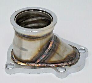 "TD04 5 Bolt Turbo Downpipe Flange 2.5"" V Band Conversion Adapter For Subaru WRX"