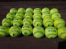 "Two Dozen (24) Usssa Men's 12"" Softballs - Tattoo - Used - Ut12Mps"