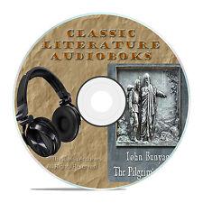 THE PILGRIM'S PROGRESS, JOHN BUNYAN, CLASSIC AUDIOBOOK LITERATURE MP3 CD-A67