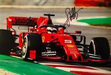 Formula One Sebastian Vettel Original Hand Signed Photo 30x20cm With COA.