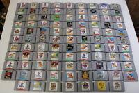 WHOLESALE LOT of 97 Nintendo 64 Games N64 Japan Import US Seller UNTESTED AS IS
