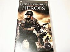 "MEDAL OF HONOR HEROES PSP GAME R1 ""VGC"" AUZ SELLER"
