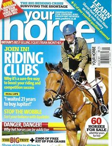 Your Horse Magazine Riding Clubs Riding Cross Country Bedding Crisis Jumps 2009