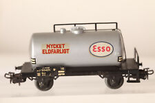 Märklin H0 4524 Swedish Esso Tank Wagon Mycket Eldfarligt (43528)
