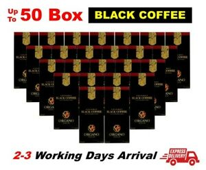 (Express) ORGANO GOLD Black Coffee 1-50 Ganoderma Reishi Mushroom Instant Cafe