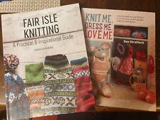 Knitting books x2