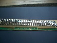 "Expansion Band Lug 3/4"" New Vintage 1950's Gemex Stainless Steel Usa"
