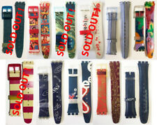 SWATCH ORIGINAL BAND STRAPs - VINTAGE GENT & JELLY IN JELLY MODELS 90'S #009