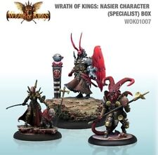 Wrath of Kings House Nasier Character Box #2 (3) (WOK01007)
