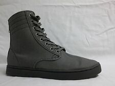 KR3W Size 7 M Franklin Grey Canvas High Top Sneakers New Mens Shoes
