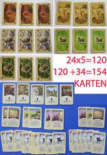 Siedler von Catan 154 Karten 100% Komplett Basis Spiel + Erweiterung 5-6 Spieler