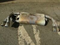 LATE MGF MG TF MILTEK 4 PIPE STAINLESS EXHAUST BACKBOX