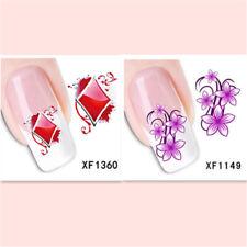 2Sheet/New Fashion Trend Beautifully Beautiful DIY Nail Stickers XF1360+1149