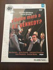 ¿QUIEN MATO A J F KENNEDY? - DVD PAL MULTIZONA 1 A 6 - SLIMCASE CARTON - 115 MIN