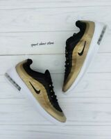 7Y | 8.5 MEN'S NIKE AIR MAX AXIS BLACK GOLD RUNNING CASUAL SNEAKERS AA2146 011
