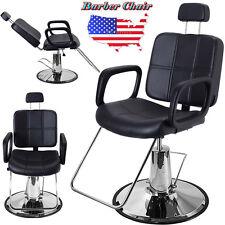 OEM Adjustable Reclining Hydraulic Barber Chair Salon Beauty Spa Shampoo Styling