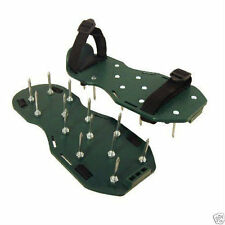 Lawn Aerator Aerating Shoes Sandals 13 x 5cm Spikes Per Shoe Garden Lawn Care